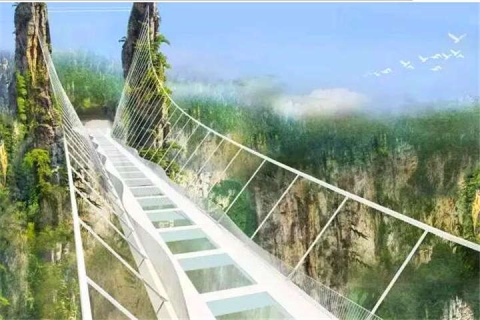 【挑战玻璃桥主题月】冬游张家界大峡谷天门山玻璃栈道凤凰古城高铁4天