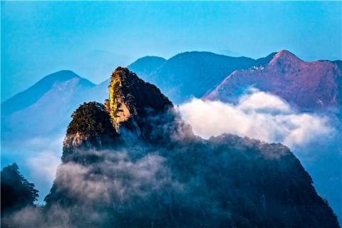 湖南.郴州2天.郴州莽山国家森林公园.高山森林温泉