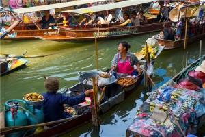 泰国-泰国【当地玩乐】代订曼谷叻丕府福气冲天一日游