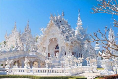 清迈-泰国【当地玩乐】代订清莱白庙、黑庙、辛哈公园SinghaPark一日深度游(艾美国际自助餐)。等待确认