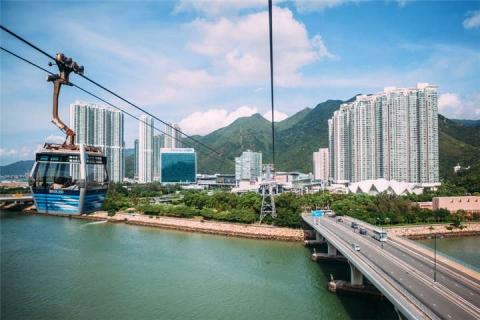 香港-A昂坪360双程缆车+直通巴士自由行1天
