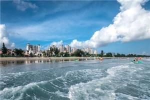 惠州-【海滩直通车】惠州双月湾2天*金沙滩*中档酒店*标双
