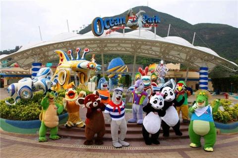 【乐园】香港海洋公园1/2天*单程*直通巴士