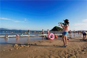 惠州-【海滩直通车】惠州双月湾2天*海百纳*高级酒店*标双