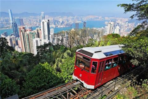 香港海洋公园2天.黄大仙.浅水湾.赤柱.太平山顶