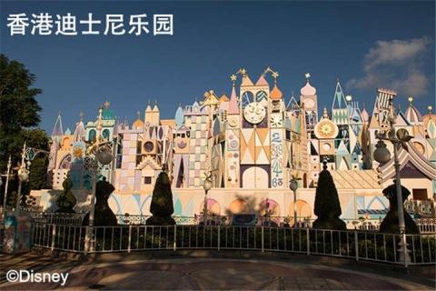 香港迪士尼乐园3天.黄大仙.浅水湾.赤柱.莲花港船