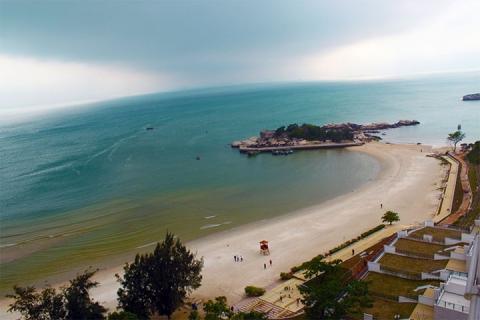 惠州-【海滩】惠州大亚湾2天*东能银滩*豪华酒店*海景双