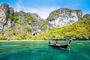 泰国-泰国【当地玩乐】代订甲米五岛长尾船一日游