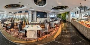 广州塔106层璇玑地中海旋转餐厅自助晚餐