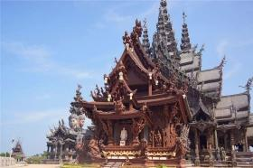 泰国【当地玩乐】代订芭堤雅真理寺门票+骑马+芭提雅地区接送。等待确认