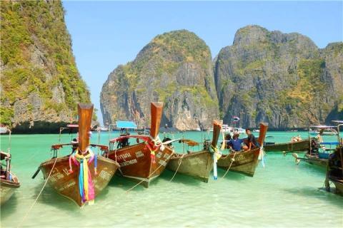 泰国【当地玩乐】代订普吉PP岛+竹子岛快艇一日游 (中文服务)|跟团游
