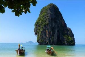泰国-泰国【当地玩乐】代订甲米塔兰半日游,划皮艇(不含午餐)*等待确认
