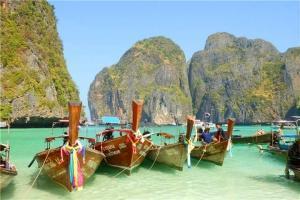 泰国-【当地玩乐】泰国普吉1天*PP岛+蛋岛+玛雅湾飞鱼号一日游*等待确认<PP岛一日游套餐>