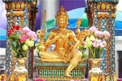 曼谷-【泰国曼谷当地一日游】大皇宫+玉佛寺+卧佛寺+四面佛+水族馆