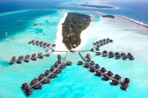 马尔代夫-【自由行】马尔代夫卡尼岛6天*机票+酒店*ClubMed地中海俱乐部*香港直航*等待确认<一价全包、4晚会所>