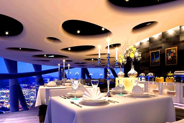 广州塔卢特斯法国旋转餐厅
