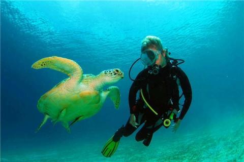 美娜多5/6天.布纳肯三岛+邦卡Fun Dive 8潜.广州往返