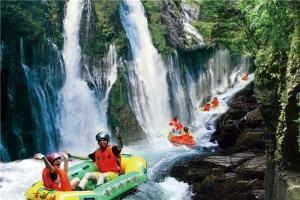 古龙峡漂流-【生态·漂流】清远古龙峡漂流、连州地下河2天*飞龙国际赛道全程漂*特色美食