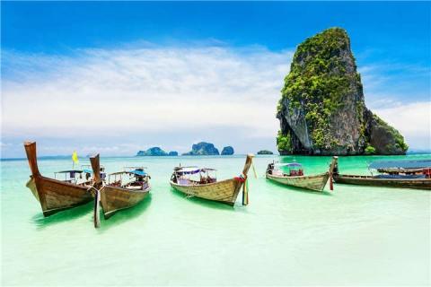 甲米-泰国【当地玩乐】代订甲米四岛(长尾船)一日游