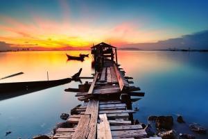 兰卡威-【誉·休闲】马来西亚槟城、兰卡威5天*安心*经典精选<全程海边豪华酒店,红树林地质公园,东方村全方位体验,风情姓氏桥>