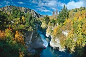 新西兰-【当地玩乐】 新西兰皇后镇夏特欧瓦峡谷喷射快艇体验