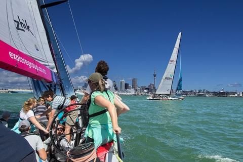【当地玩乐】 新西兰奥克兰美洲杯扬帆体验|跟团游