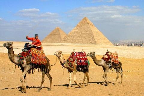 埃及-【典·深度】埃及8天*经典之旅<全程超豪华酒店,金字塔+狮身人面像,红海度假>