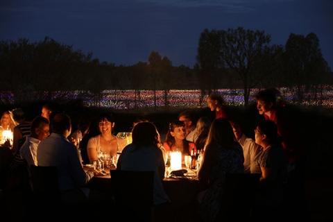 乌鲁鲁 澳大利亚-【当地玩乐】澳洲乌鲁鲁原野星光晚宴(英文)