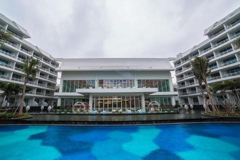 三亚-海南三亚4天3晚自由行 往返机票+亚龙湾迎宾馆豪华池景房+往返接送(等待确认)
