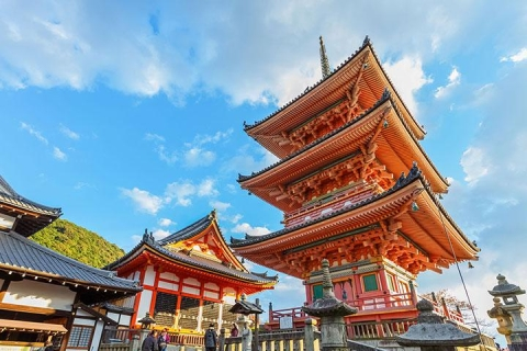 日本 京都 大阪-【自由行】日本大阪京都5天*机+酒*广州往返*即时确认<乐享超值>