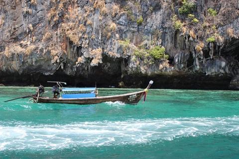 泰国【当地玩乐】代订甲米四岛一日游(普吉出发)|跟团游