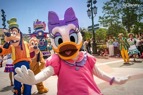 上海-【寻趣迪士尼】自由行系列:上海迪士尼•上海一地双飞3天