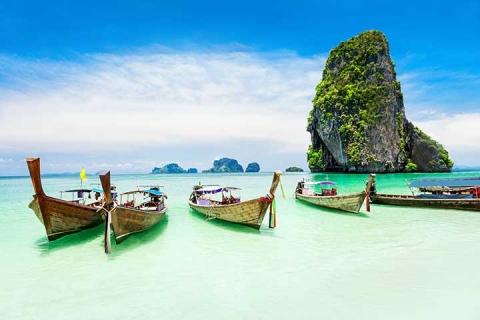 泰国 甲米-*【尚·博览】泰国、普吉、甲米5天*超值*广州往返<PP岛出海,神仙老虎洞,金娜丽大象公园,翠峰雨林>