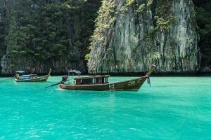 泰国-泰国【当地玩乐】代订普吉超豪华双体帆船蜜月岛日落游(每天)拼船*等待确认