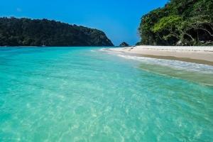 泰国-泰国【当地玩乐】代订甲米兰塔出发洛克岛快艇一日游*等待确认