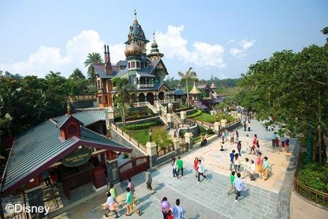 香港-【湛江飞】香港迪士尼乐园半自助游双飞4天