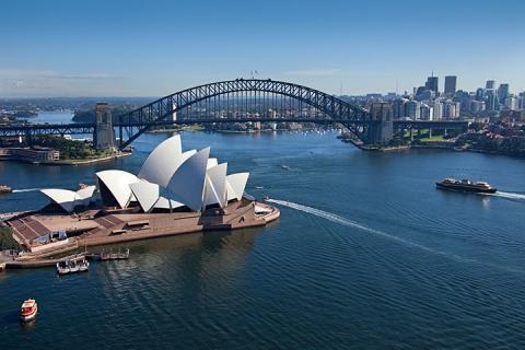 奥克兰 罗托鲁瓦 布里斯本 黄金海岸 悉尼 墨尔本-【乐·博览】澳洲(悉尼、墨尔本、布里斯本、黄金海岸)、新西兰北岛12天*绚丽<大洋路,蓝山国家公园,野生动物园,毛利文化村>