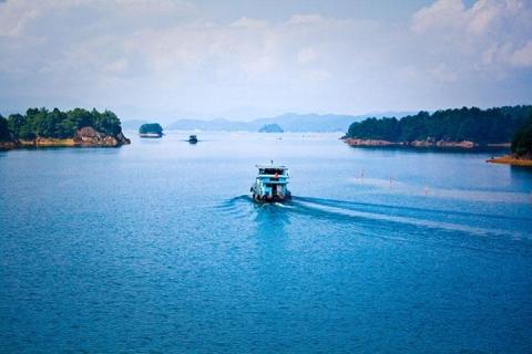 【生态】河源万绿湖游船,桂山玻璃吊桥2天*全猪汤