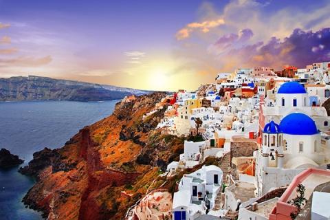 雅典 米高诺斯 圣托里尼-希腊7日醉心自由行(去圣托里尼+伊亚小镇观看迷人日落)(含船票)