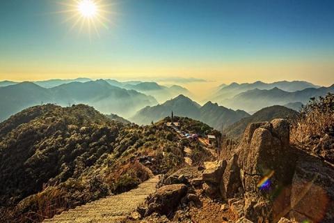 湖南郴州3天.雾漫小东江.天台山.莽山