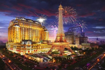 澳门巴黎人酒店-豪华双床房