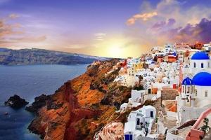 希腊-【尚·全景】土耳其、希腊15天*GTIS*爱琴海大全景*圣托里尼*棉花堡*特洛伊