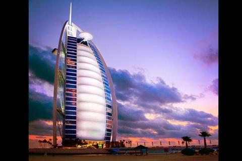 迪拜-【尚·休闲】阿联酋迪拜6天*迪拜乐园及度假村<住1晚乐园波利尼西亚主题莱比特豪华酒店,乘阿拉伯木船赏激光秀>