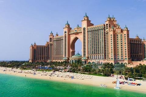 迪拜-【尚·休闲】阿联酋迪拜5天*亚特兰蒂斯*超豪华酒店*广州往返<入住1晚棕榈岛亚特兰蒂斯酒店,失落海底世界水族馆,水世界冒险乐园>