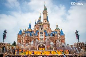 上海迪士尼-【当地玩乐】全家乐套餐D:2大1小上海迪士尼2日门票
