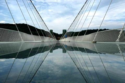 【尚全景】湖南长沙张家界凤凰高铁5天*玻璃桥*