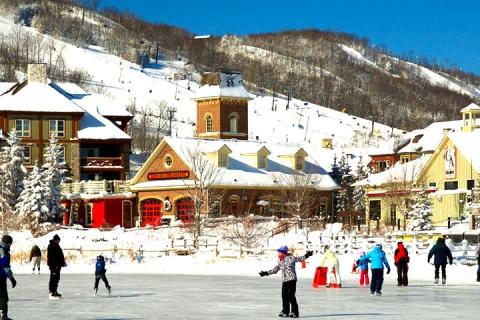 <加拿大东岸10天>蓝山滑雪场-尼亚加拉大瀑布-水族馆