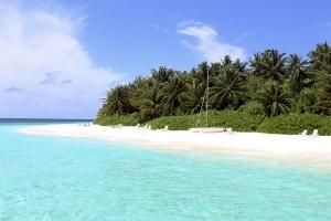 马尔代夫-【自由行】马尔代夫(奥露岛)5天*机+酒*广州往返*等待确认<一价全包,中文服务,休闲静谧,快艇上岛>