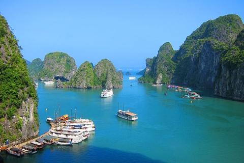越南吉婆岛下龙湾河内动车5天*越品质<3晚超豪华>