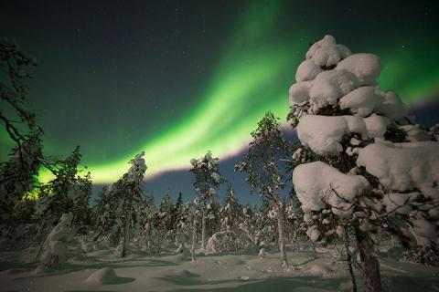 北极光专线极致体验、芬兰10天*玻璃屋赏极光*极地破冰*滑雪桑拿双体验*北极圈四晚中心酒店